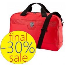 Cпортивная мужская сумка Ferrari Puma, красная