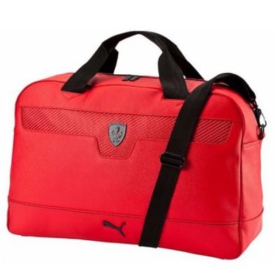 *Cпортивная мужская сумка Ferrari Puma, красная