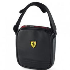 Мужская сумка через плечо Ferrari, черного цвета