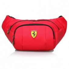 *Сумка на пояс Ferrari  (красная)