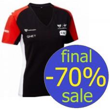 *Женская командная футболка Marussia Virgin Racing