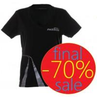 Темно-серая женская футболка McLaren Mercedes