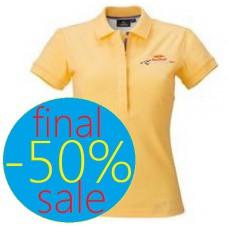 Женская футболка поло Red Bull Racing, жёлтая