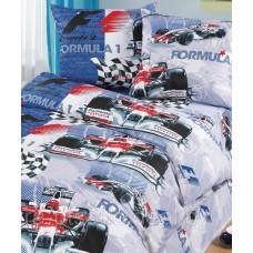 Комплект детского постельного белья Formula 1
