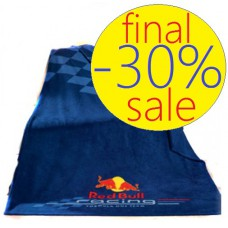 Плед на кровать (130х170 см) Red Bull Racing синий