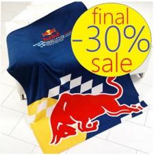 Флисовый плед Red Bull Racing с быком (130x170 см)