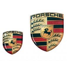 3D наклейка Porsche Crest Большая