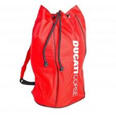 *Cумка рюкзак для спортивной обуви Ducati красный