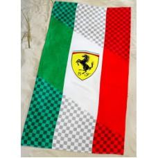 *Пляжное полотенце (75х150 см) Ferrari