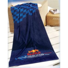 *Пляжное полотенце (80х160 см)  Red Bull Racing