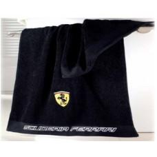 *Полотенце для душа Ferrari 70 х 140 см черное