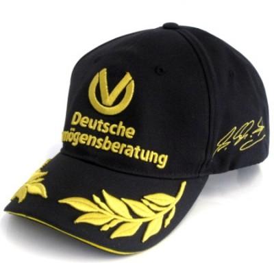 *Бейсболка Michael Schumacher 20 лет F1, чёрная