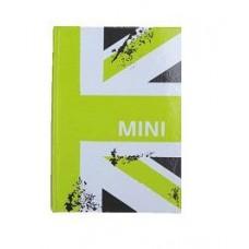 Блокнот формата А6 MINI Cooper