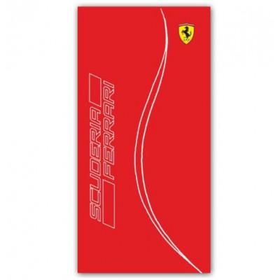 Большое пляжное полотенце (90х160 см) Ferrari