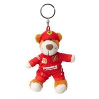 Брелок для ключей - Плюшевый Медведь Ferrari