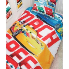 Детский комплект постельного белья Disney ТАЧКИ - Молния Маквин