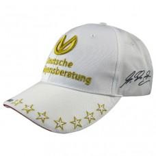 *Белая кепка Michael Schumacher DVAG