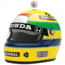*Копилка в виде шлема Ayrton Senna
