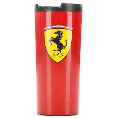 *Красная термокружка Ferrari