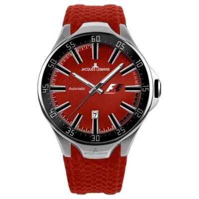 Красные наручные часы Formula 1, Jacques Lemans