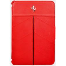 *Красный кожаный чехол Ferrari California для iPad 2 и 3