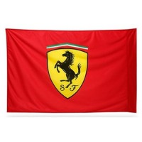 *Красный флаг Scudetto Ferrari