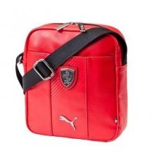 *Мужская сумка PUMA Ferrari через плечо, красная
