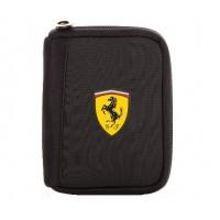 Мужской кошелек Ferrari на молнии