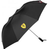 *Полуавтоматический складной зонт Ferrari, чёрный