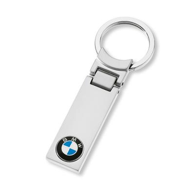 Прямоугольный брелок с эмблемой  BMW