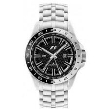 Серебристые наручные часы