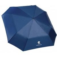 *Синий складной зонт  Peugeot