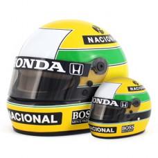 Сувенир Formula 1 - Модель шлема Ayrton Senna (1:2)