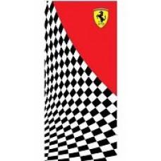 *Яркое пляжное полотенце  (75х150 см)  Ferrari