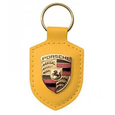 Брелок для авто-ключей Porsche Crest (жёлтый)