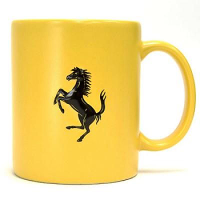 *Жёлтая кружка Matt Finish Ferrari