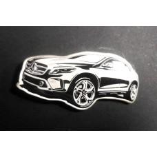 Значок Mercedes Benz автомобиль