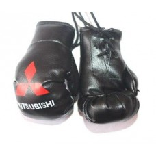 Брелок в машину - Боксерские перчатки Mitsubishi