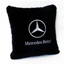 Подушка Mercedes-Benz черная