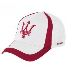 *Брендовая бейсболка Maserati (белая)