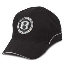 *Черная бейсболка Bentley Logo New