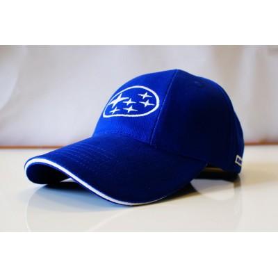 *Синяя бейсболка Subaru Baseball Cap Blue
