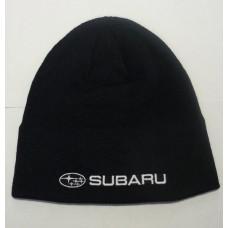 *Темно-синяя шапка Subaru