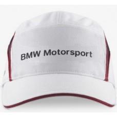 Белая бейсболка BMW Motorsport