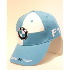 Белая бейсболка BMW Motosport F1