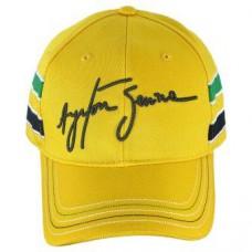 *Оригинальная бейсболка Ayrton Senna (жёлтая)