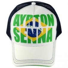 "*Летнняя бейсболка Ayrton Senna ""Brasil"""