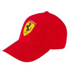 *Брендовая бейсболка Ferrari