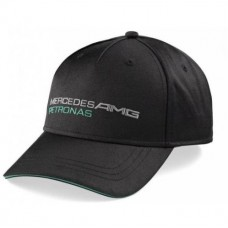 *Чёрная бейсболка Mercedes AMG Petronas F1 Team Fan