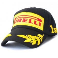 Чёрная бейсболка Победителя Формулы 1 Pirelli